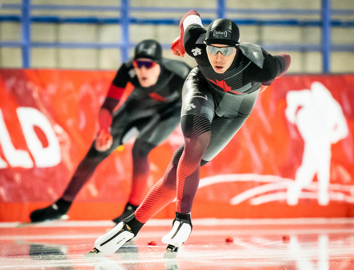 Long Track Speed Skaters