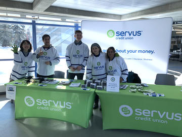 Servus Credit Union at Family Day